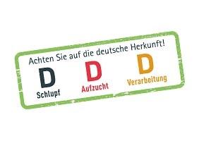 DDD: Schlupf, Aufzucht und Verarbeitung in Deutschland